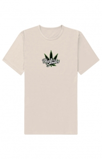 Tan Embroidered Tee