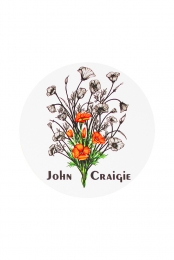 California Poppies Sticker