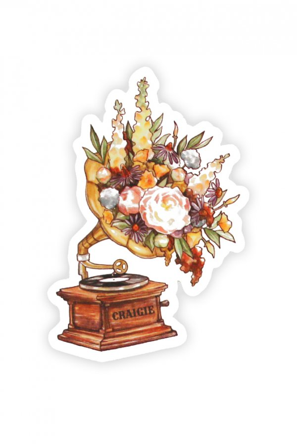 Victrola Sticker