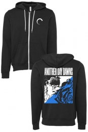 Rose Zip Up (Black) - Another Day Dawns