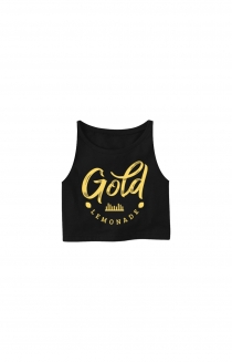 GL Sleeveless Crop (Black)