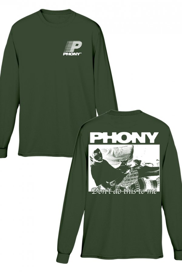 Don't Do This To Me Long Sleeve Tee (Forest Green)
