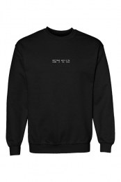 Don't Bleed Crewneck Sweater