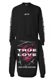 True Love Crewneck - Black