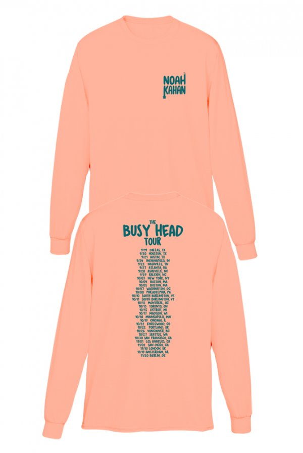 Busy Head Tour Long Sleeve