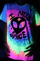 I Need Space Tee (Minty Rainbow)