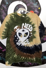 I Need Space Tee (Camo Swirl)