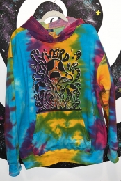 Stay Weird Youth Hoodie (Multi Rainbow)