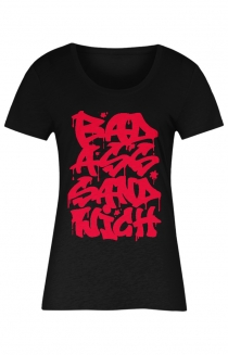 GRAFFITI WOMENS TEE - RED