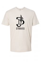 Black Logo Tee (Cream)