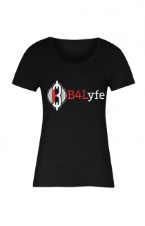 B4Lyfe Signature Line Women's Tee (Black)