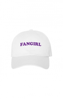 Fangirl Dad Hat (White)
