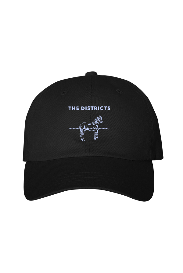Horse Dad Hat (Black)