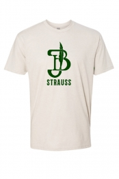 Green Logo Tee (Cream)