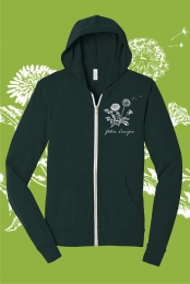 Dandelion Light Hoodie (Emerald Green)