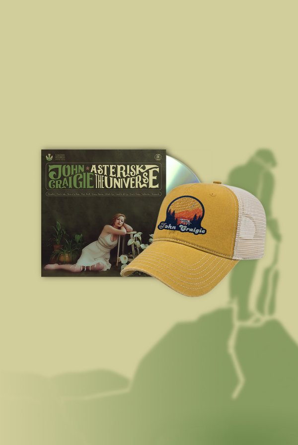 Asterisk the Universe CD (Signed) + Hat