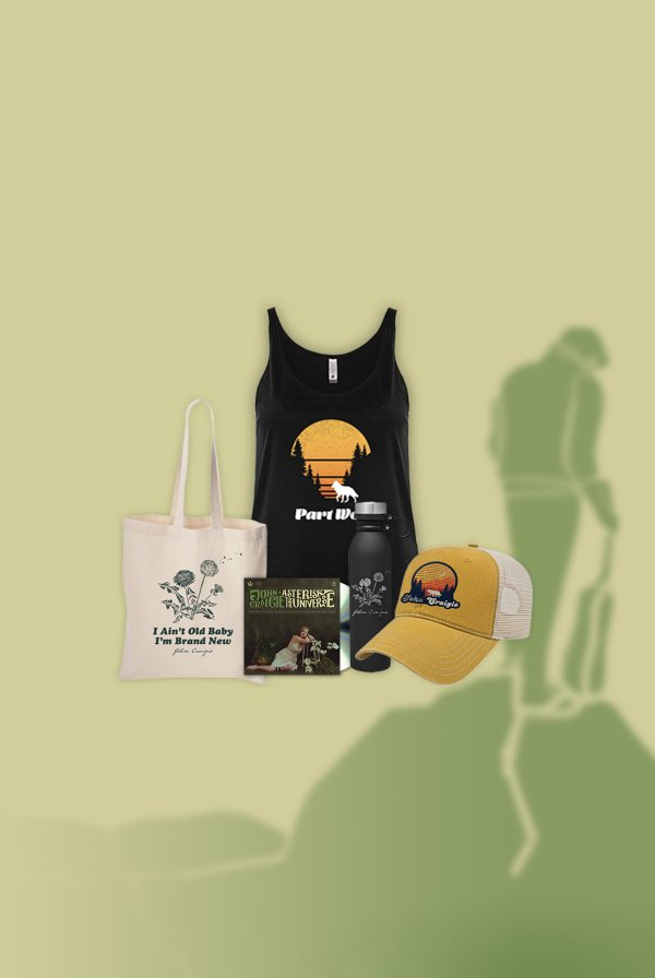 Asterisk the Universe CD (signed) + Part Wolf Tank + Water Bottle + Tote Bag + Hat