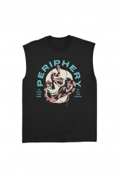 Reptile Sleeveless Tee (Black)