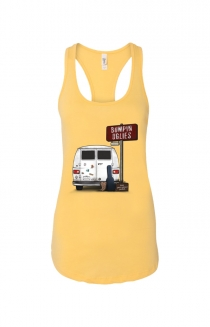 Keep your suitcase packed. Tank (Yellow)