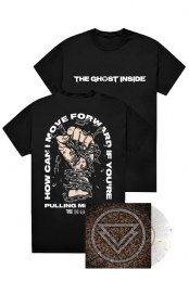 The Ghost Inside S/T LP + Pulling Me Back Tee