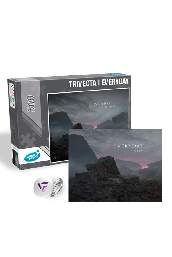 Everyday EP Puzzle + Free Pin