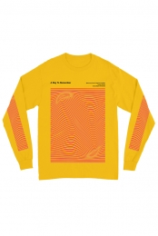 Waves Long Sleeve Tee (Gold)