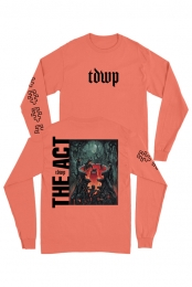 The Act Long Sleeve (Neon Orange Red)