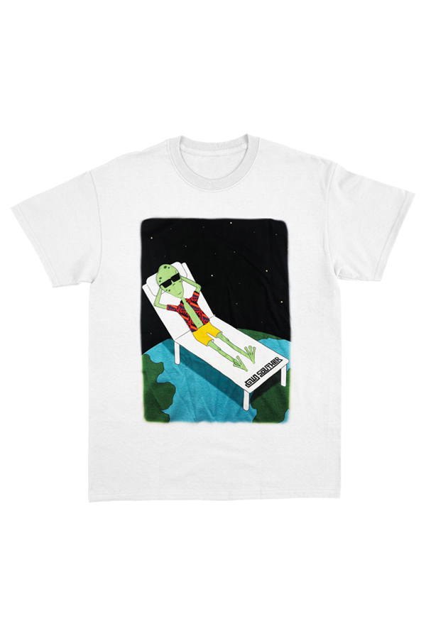 I'm Cool Alien Tee (White)