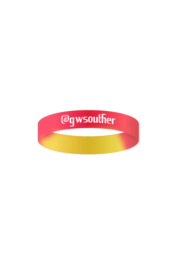 GW Wristband (Yellow/Red)