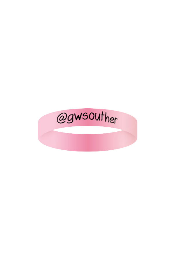 GW Wristband (Light Pink)