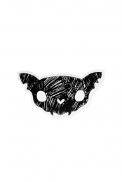 Cat Skull Sticker (5 Pack)