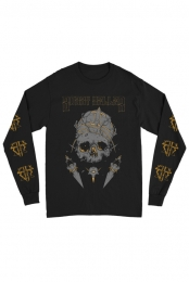 Crown/Skull Long Sleeve Tee (Black)