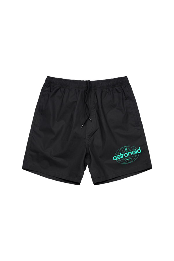 Globe Cotton Shorts (Black)
