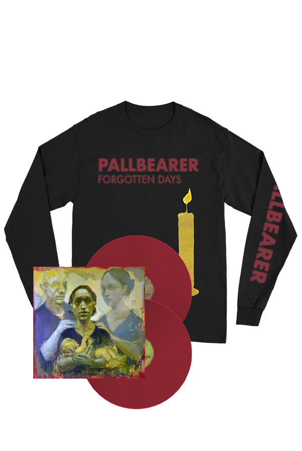 Forgotten Days Oxblood 2xLP + Long Sleeve Shirt