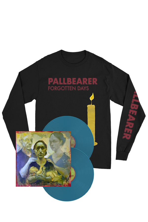 Forgotten Days Aqua Blue 2xLP + Long Sleeve Shirt