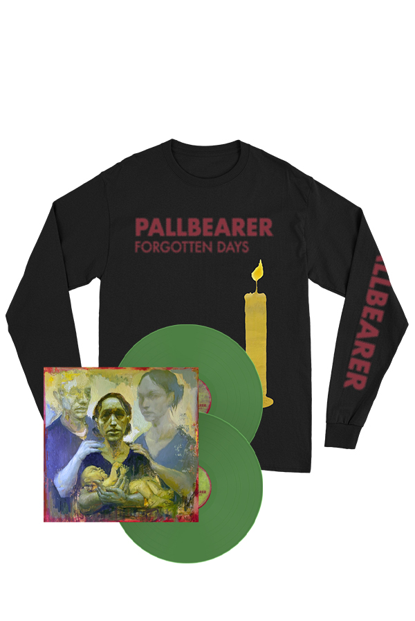 Forgotten Days Olive Green 2xLP + Long Sleeve Shirt