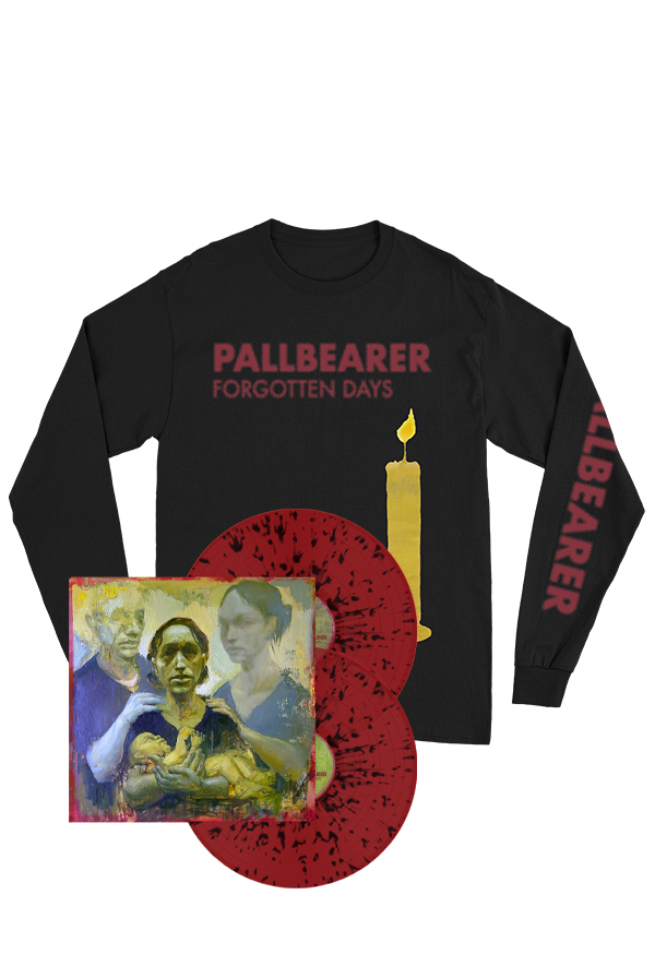 Forgotten Days Red/Black Splatter 2xLP + Long Sleeve Shirt