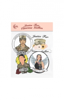 Justice For Vanessa Guillen Sticker Pack
