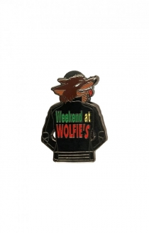 Weekend at Wolfie's Pin