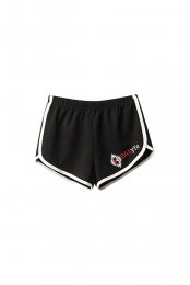 B4Lyfe Ladies Shorts (Black/White)