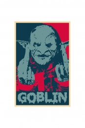 Goblin Campaign Screen Printed Poster