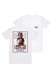 I Want You Tee (White)