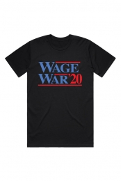 Vote Wage War Tee (Black)