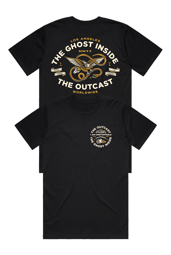 The Outcast Tee (Black)