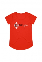 Women's Logo Tee (Red)