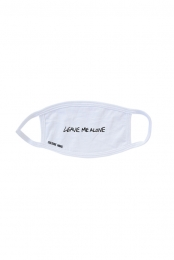 Leave Me Alone Mask (White)