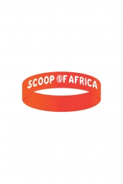 Scoop of Africa Wristband (Orange)