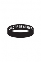 Scoop of Africa Wristband (Black)