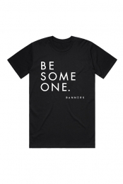 Be Someone Tee (Black)
