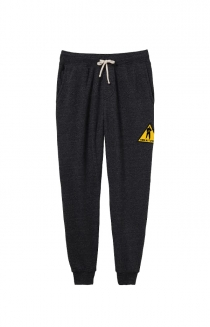 Men At Work Caution Joggers (Eco Black)